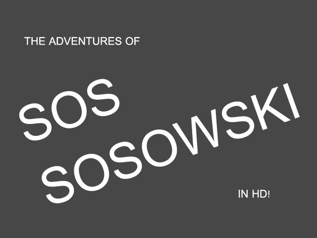Play Sos Sosowski - The Game