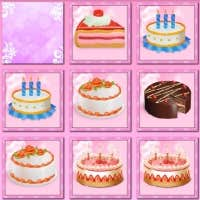 Play Birthday Cakes: Pair Matching