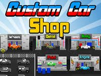Play Custom Car Shop