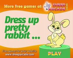 Play Dress up pretty rabbit
