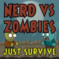 Play Nerd vs Zombies: Survive