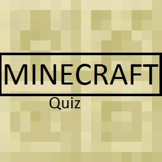 Play The Minecraft Quiz 2