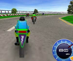 Play 3D Moto Racing