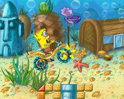 Play  Spongebob Motocross