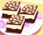 Play Chocolate Cream Cheese Bars Cooking Game