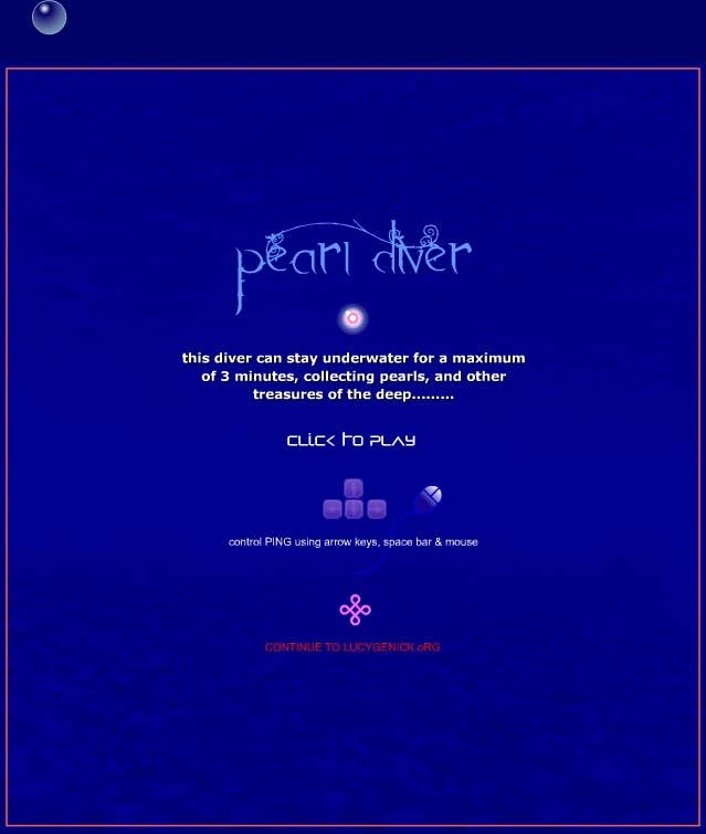 Play pearl diver
