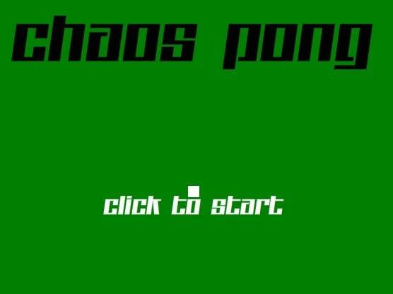 Play Chaos Pong