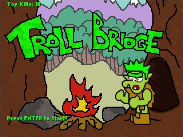 Play Troll Bridge