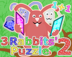 Play 3 Rabbits' Puzzle 2