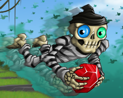 Play Launch the skeleton