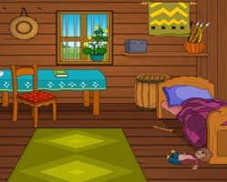 Play Wooden Farm House Escape