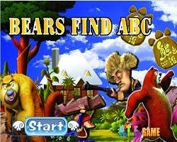 Play Bear Find Letters
