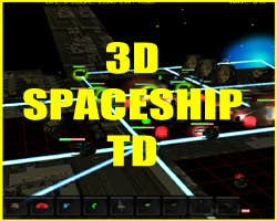 Play 3D SPACESHIP TD