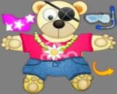 Play Bear Dess Up