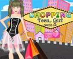 Play Shopping Teen Girl Dress UP