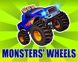 Play Monsters' Wheels