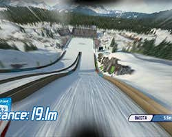 Play Ski Jump Breathing Game