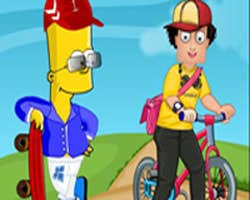 Play Sam With Simpson Dress up