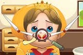 Play Royal Baby Nose Doctor
