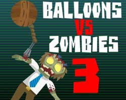 Play Balloons vs Zombies 3
