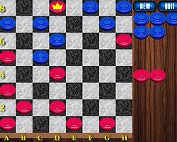 Play Checkers omega