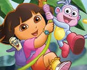 Play Dora the Explorer: Spot the Difference
