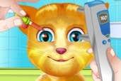 Play Talking Ginger Eye Doctor