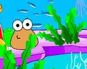 Play Pou Ocean Decorating
