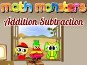 Play Math Monster Addition Subtraction