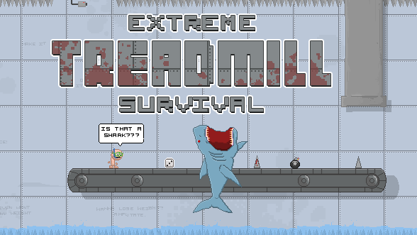 Play Extreme Treadmill Survival
