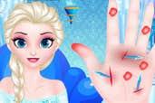 Play Doctor Frozen Elsa Hand
