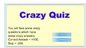 Play Crazy Quiz
