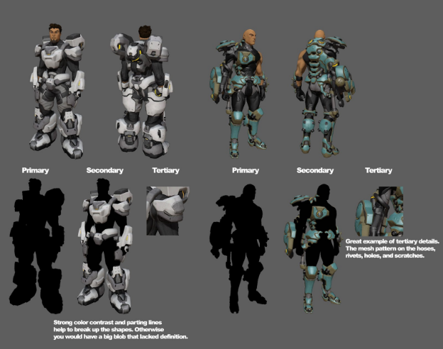 Firefall character concepts