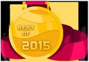 Best of 2015 medal