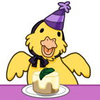 Celebrate birthday duckie base png