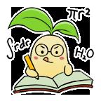 Bean stickers study