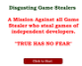 Play Disgusting Game Stealers