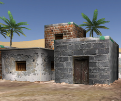 Play Arab town (first person shooter)