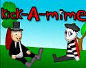 Play kick-A-mime