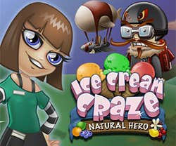 Play Ice Cream Craze: Natural Hero