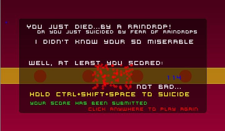 Play Raindrop Kill