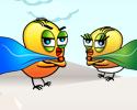 Play SuperChicken Battles the Penguin Horde