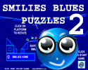 Play SMILIES BLUES PUZZLES 2