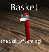 Play Basket: The Skill Of Aiming!