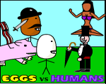Play Eggs vs Humans