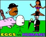 Play Eggs vs Humans