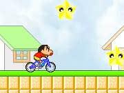 Play Bike Rider Shin Chan