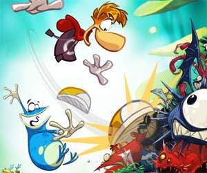 Play Rayman - Slap Flap, and Go!