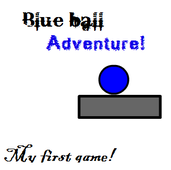 Play Blue Ball Adenture!