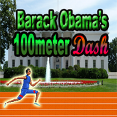 Play Barack Obama's 100meter Dash